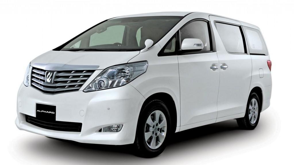 Rental Mobil Alphard Medan