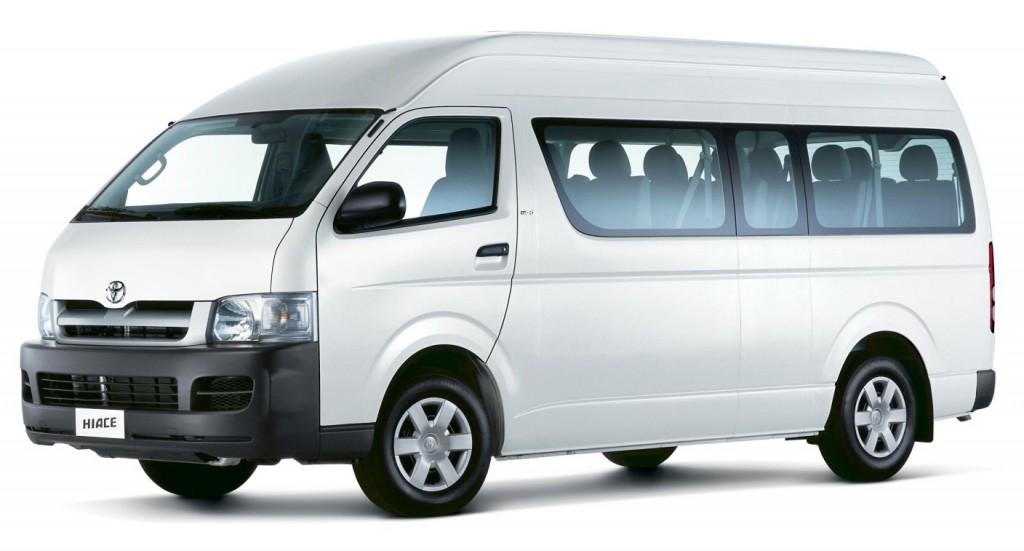 Rental Mobil Toyota Hiace Medan