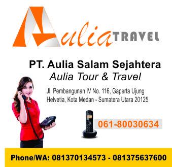 Alamat & Kontak Aulia Travel